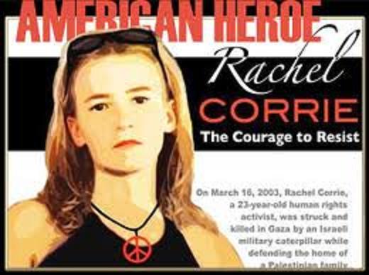Rachel Corrie American Hero 1
