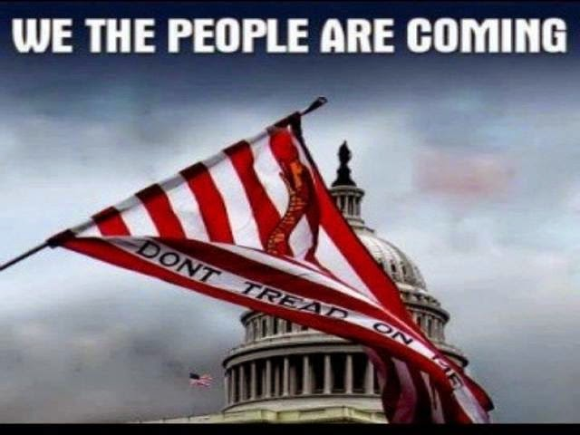 We the people are coming